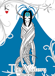 The Watery card preview image.